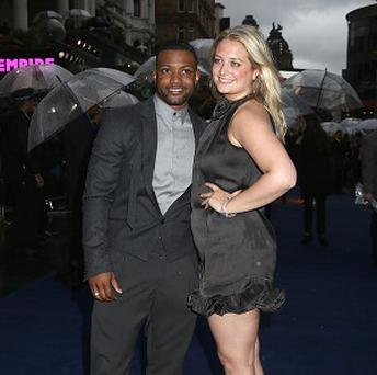 JB Gill and Chloe Tangney have got engaged