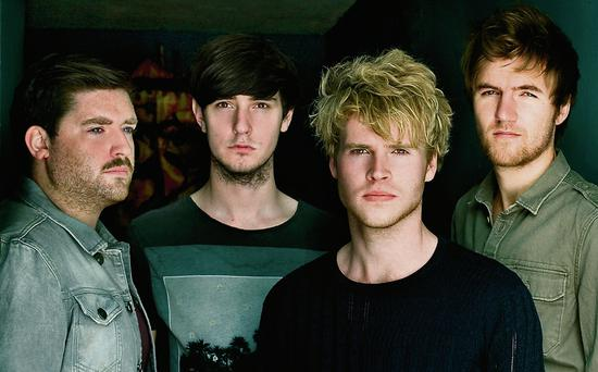 Kodaline (L-R) Vincent May, Jason Boland, Steve Garrigan, Mark Prendergast