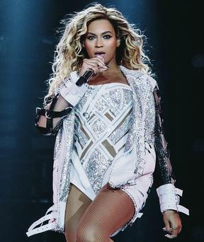 Singer Beyonce will team up with the Simon Community in Dublin at her concert in the O2.