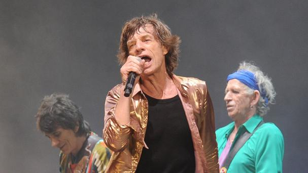 The Rolling Stones said their thoughts are with Mick Jagger