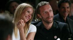 Gwyneth and Chris together in January of this year.