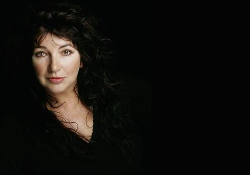 Going live: Kate Bush's decision to play 15 concerts at the Hammersmith Appolo in London this summer has created a buzz