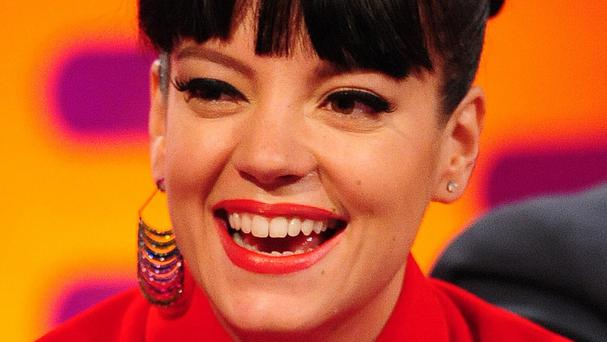 Lily Allen shared her opinion of today's music industry