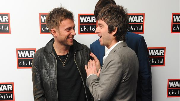 Damon Albarn and Noel Gallagher could write songs together in the future