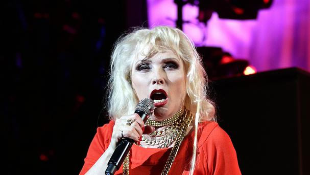 Debbie Harry has joined Arcade Fire on stage at Coachella