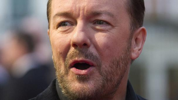 Ricky Gervais says he's wary of taking David Brent to Glastonbury