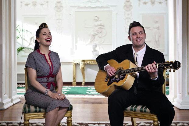 Imelda May and Darrel Higham