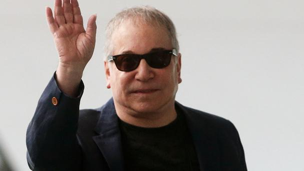 Paul Simon was arrested in Connecticut