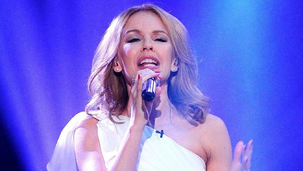 Kylie Minogue was accused of miming at the Logie Awards in Australia