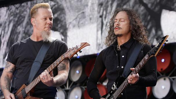 Metallica will headline Saturday night at this year's Glastonbury festival.