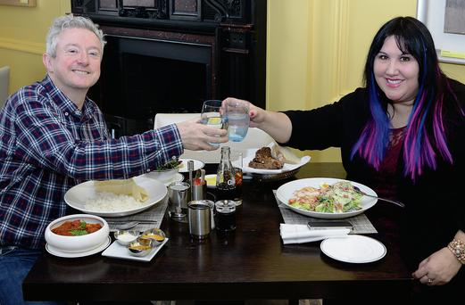 Lunch with Louis Walsh