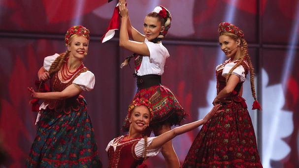 Donatan and Cleo represented Poland in the Eurovision Song Contest