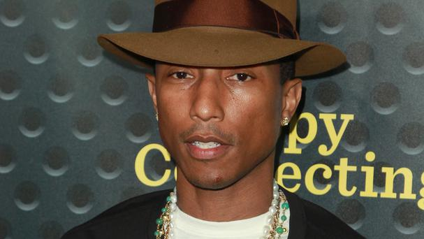 Pharrell Williams' album G I R L went to number one