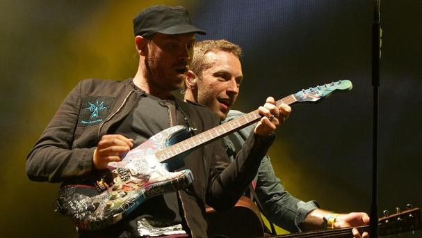 Coldplay are set to top the charts with new album Ghost Stories