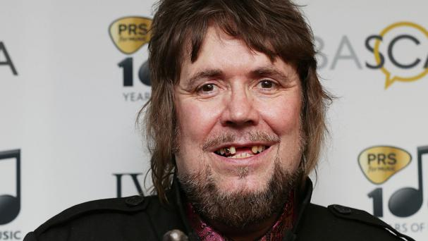 Specials songwriter Jerry Dammers picked up the inspiration award at the 59th Ivor Novello Awards