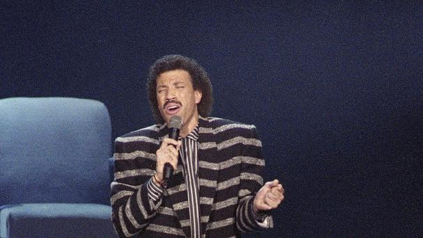 Lionel Richie is shocked to be getting a lifetime achievement award