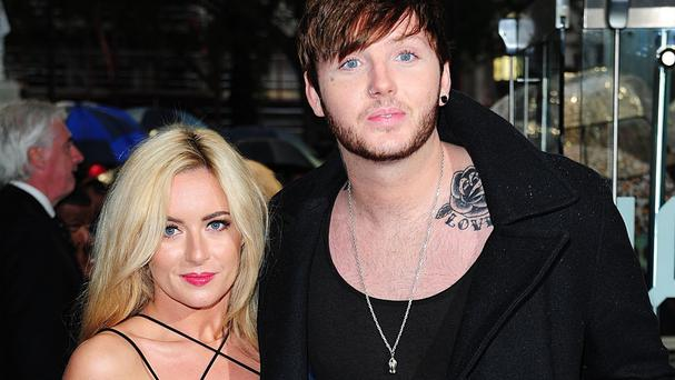 James Arthur said his girlfriend Jessica Grist has given him a new perspective on life