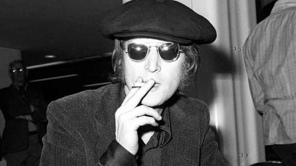 Drawings, poems and prose by John Lennon are going under the hammer