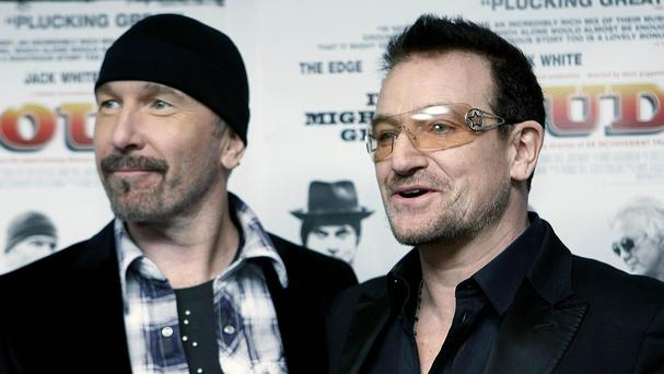 U2's Bono and The Edge are set to join the board of directors for US guitar brand Fender