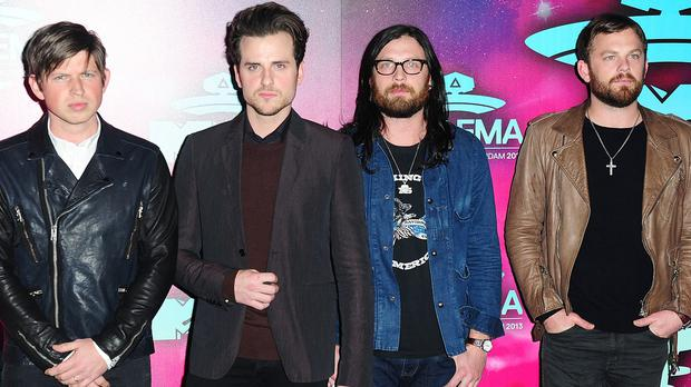 Kings Of Leon said people don't recognise them when they take the Tube