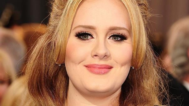Adele is signed to an independent record label