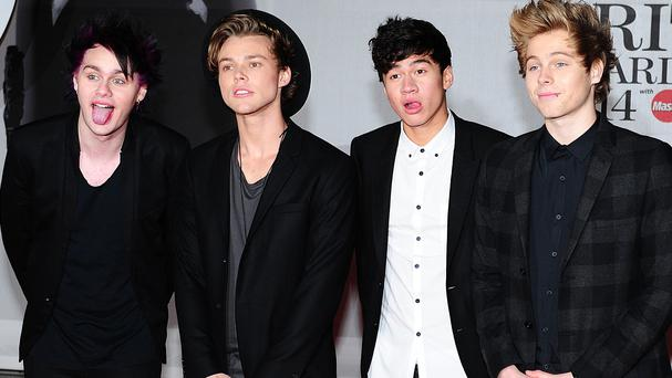 5 Seconds Of Summer look set to top the charts with Don't Stop