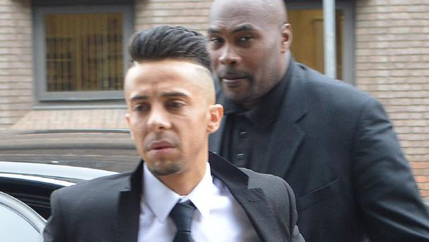 Dappy at Chelmsford Magistrates' Court