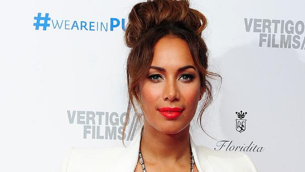Leona Lewis found auditioning for her first film harder than performing live for millions of people