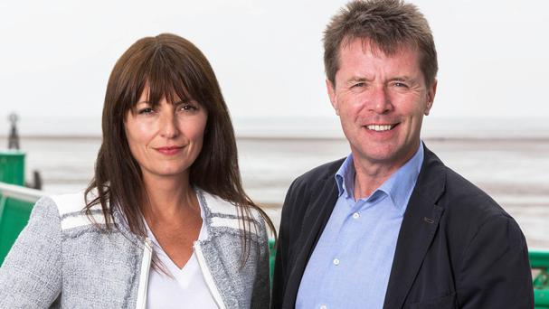 Nicky Campbell co-presents Long Lost Family with Davina McCall