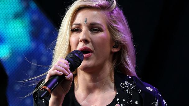 Ellie Goulding says she seeks advice from famous friends Taylor Swift and Katy Perry