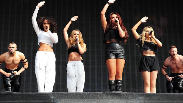 Little Mix like to think their show is just the right amount of sexy