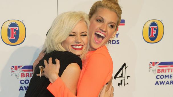 Kimberly Wyatt makes a cameo in Ashley Roberts' new music video