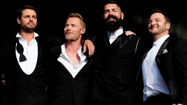 Boyzone are working on a Motown album
