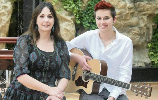 Moya Brennan and daughter Aisling Jarvin