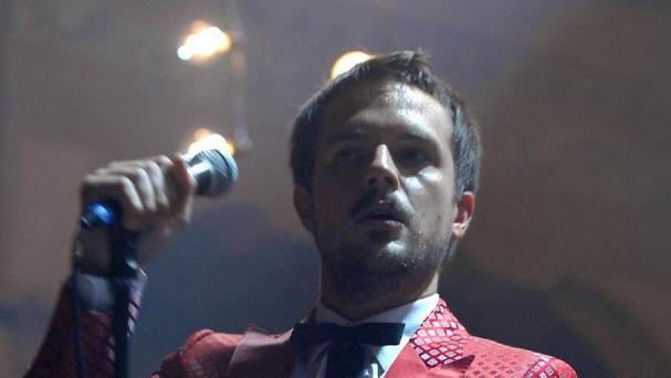 Brandon Flowers has said he doesn't have to be grammatically correct