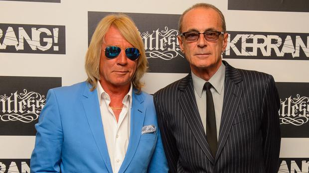 Status Quo have cancelled a number of concerts after Rick Parfitt (left) took ill