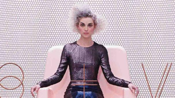 St Vincent wandered around naked to get inspiration for her new album