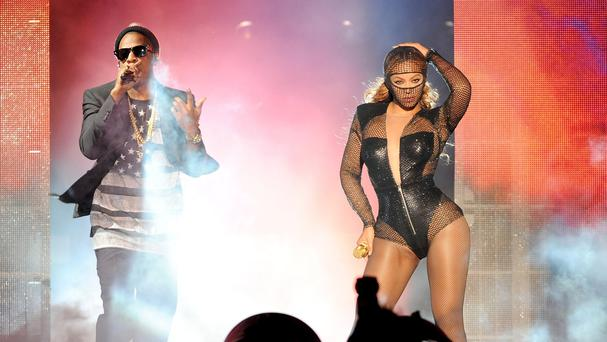 A man was arrested for biting another man's finger off at Beyonce and Jay Z's concert in Los Angeles