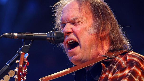 Neil Young is splitting from his wife of 36 years