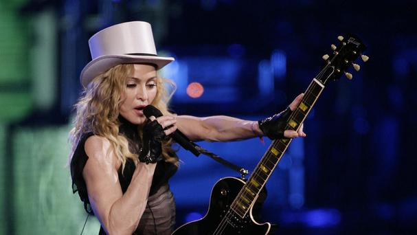 Madonna apparently takes a pop at Lady Gaga in a new song