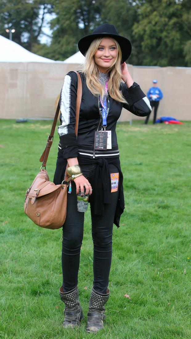 Laura Whitmore at Electric Picnic