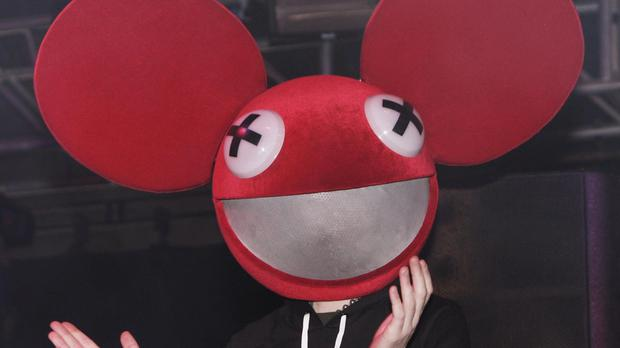 Deadmau5 is known for performing with oversized ears