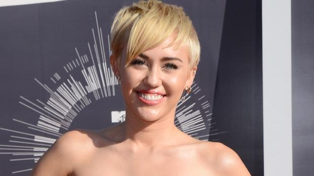 Miley Cyrus wore a huge fake butt on stage
