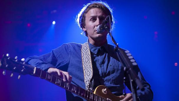 Ben Howard on stage at the iTunes Festival in London