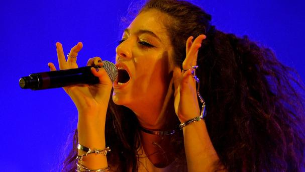 Lorde has topped Billboard's list of the hottest young music stars