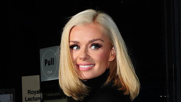 Katherine Jenkins could be set to tie the knot
