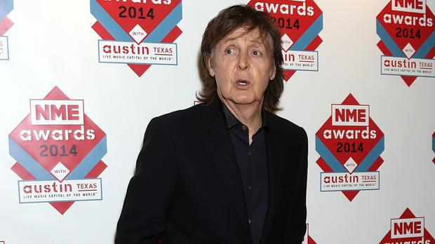 Sir Paul McCartney is backing a musical instrument amnesty
