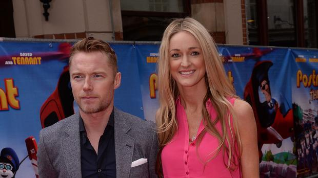 Ronan Keating with Storm Uechtritz