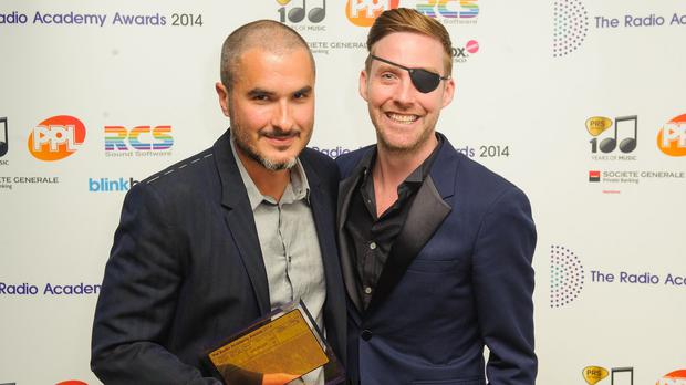 Zane Lowe was a winner at the Radio Academy Awards 2014, which is now being scrapped, receiving his award from Ricky Wilson