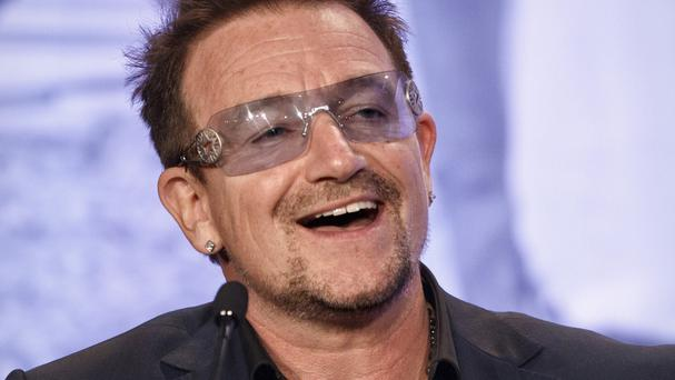 Bono's plane was not in any danger after it lost a hatch